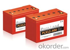 PLX Series - High Rate solar battery  for on  grid