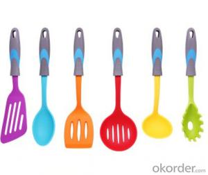 ART no.04 Silicone Kitchenware set for cooking