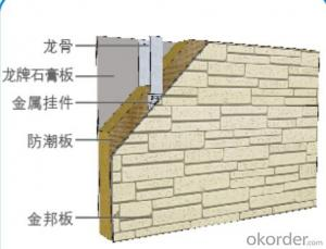 Fiber Cement board for villas,high building-004