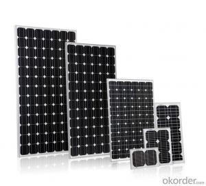 Monocrystalline Solar Panels/Solar Modules 250w Full Black