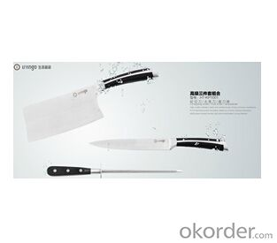 Art no. HT-KP1001  Stainless steel knife set