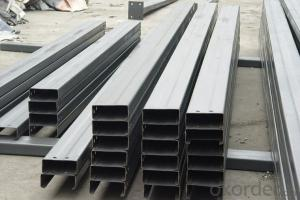 Hot-rolled Stainless C Type Steel Purlin/Channel Steel