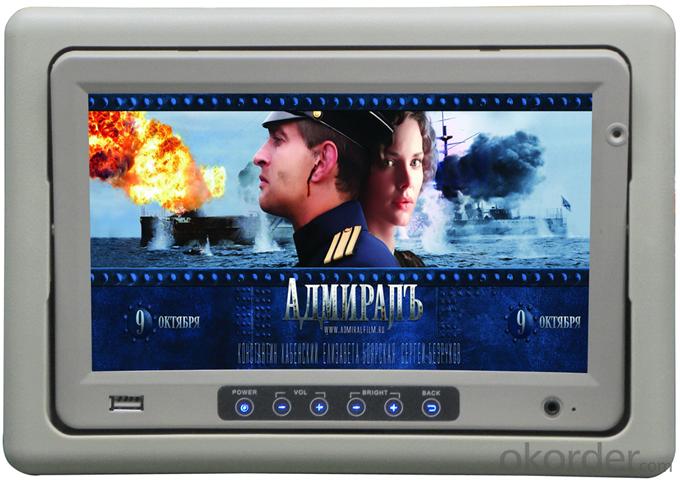 Super TFT LCD Monitor BVH-901 Headrest Model