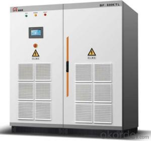 500KW Solar Inverter For Solar Power Plant or Solar Power System without Transformer