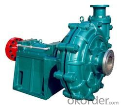 Corrosion Resisting Slurry Pump with High Quality