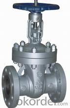 Sluice gate valve/ Válvula de compuerta