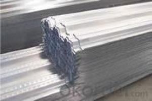 Building carrying plate floor decking steel sheet