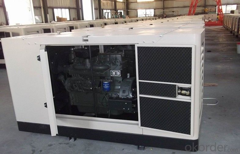 8kva 50Hz Three Phase Genset Diesel Generator with Electronic Governor, Leroysomer Alternator