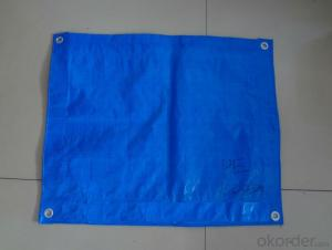 100% PE  UV-treatted Waterproof Tarpaulin Cover