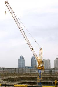 QTD315 Topkit Tower crane for construction site