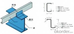stress components -- type steel and fastener (with locking serrations)