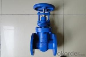 Non-rising stem casting steel soft sealing sluice valve
