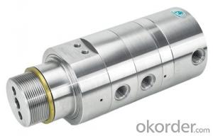 Rotary JointHigh Temperature Hot oil stainless steel rotary joint--Threaded connection