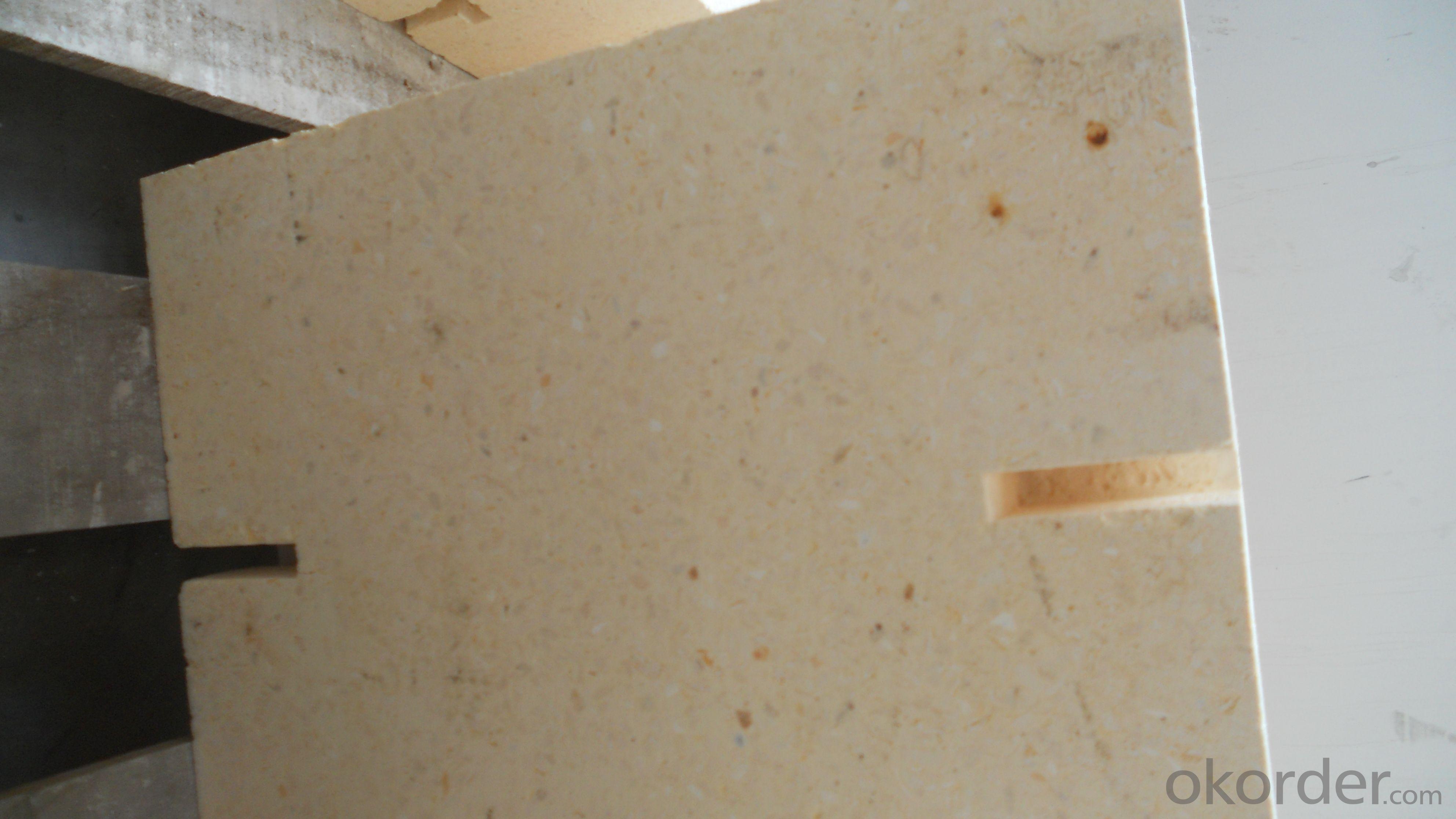 Ordinary zirconium stone refractory brick