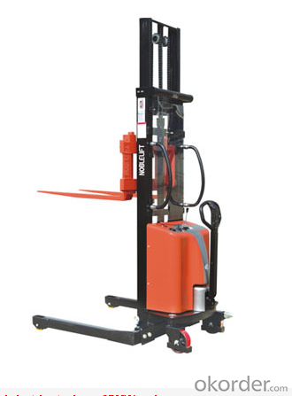 Semi electric stacker-SPMW series