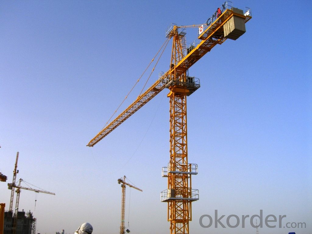 JL6010 Topkit Tower crane for construction site