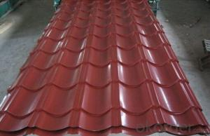 Corrugated steel roofing sheets 0.5mm thickness