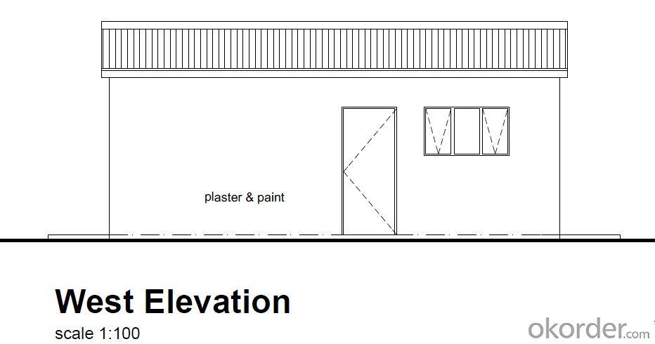 Prefabricated House Concrete Price of CNBM