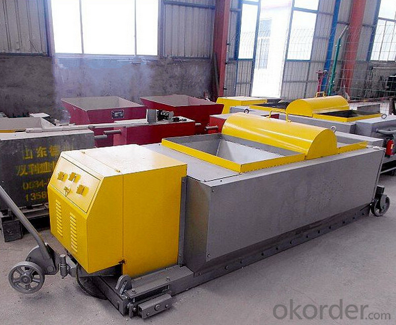 Lightweight concrete wall panel forming machine HQJ 50-300