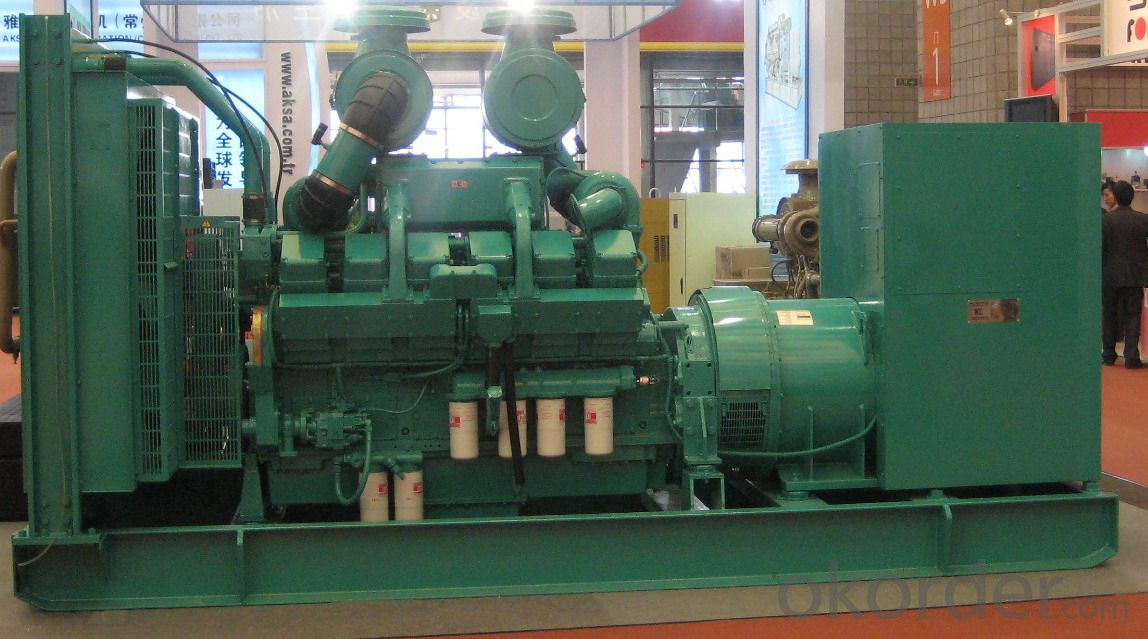 Factory price china yuchai diesel generator sets 540kw