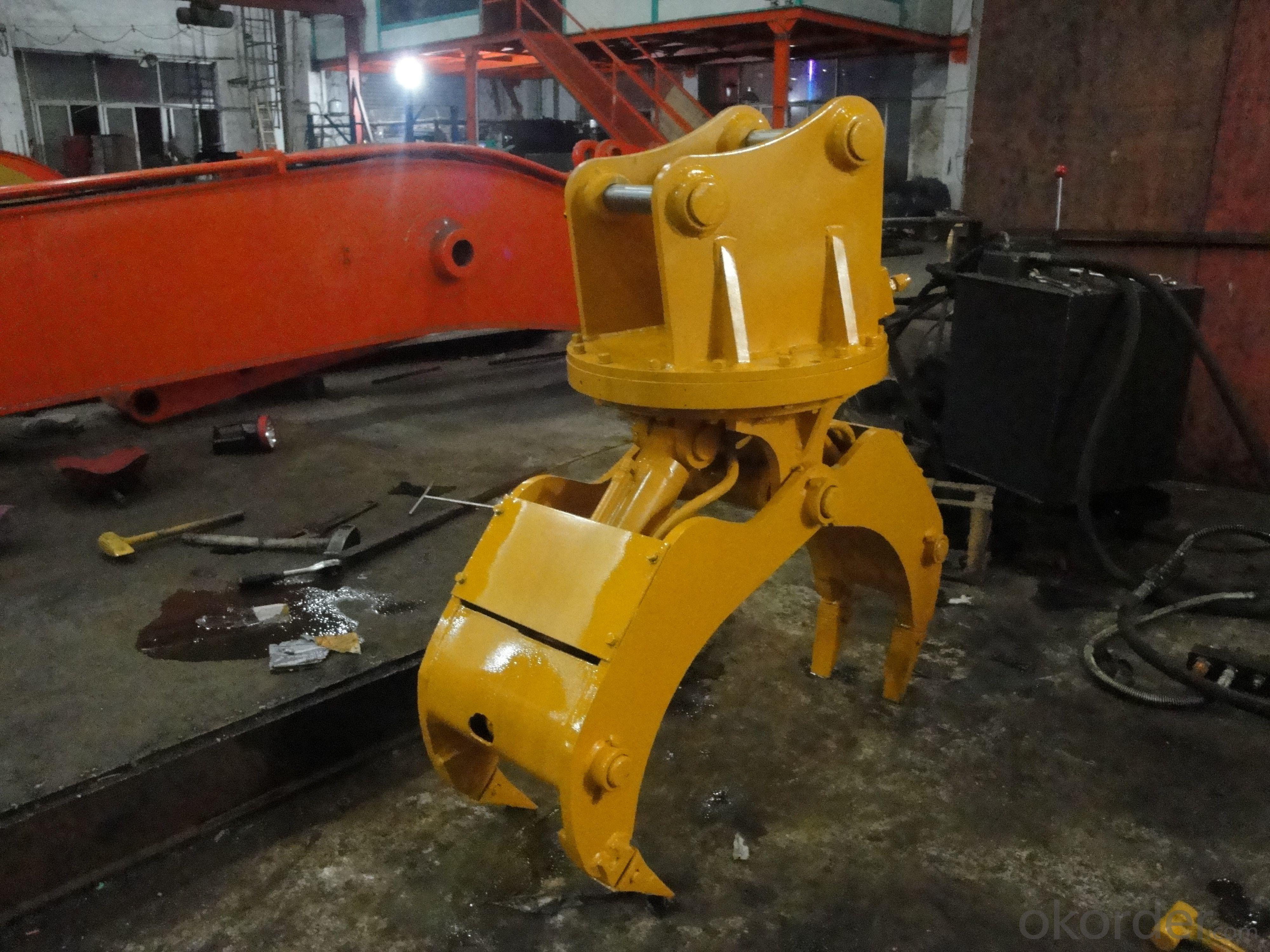 CATERPILLAR CAT307 excavator Log grapple CATERPILLAR excavator parts