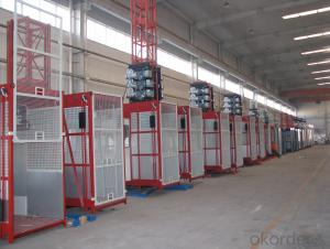SC200/200 Building hoist for passenger and materials