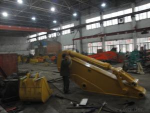 Excavator boom and arm CAT345 Excavator arm parts