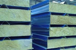rockwool sandwich panel china sandwich panel