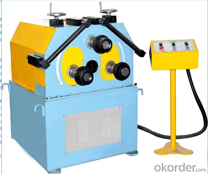 50 Pipe Rolling Bending Machine NC Single Chip