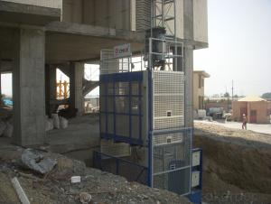 SC100 Building hoist for passenger and materials