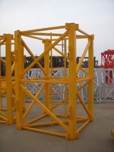 JL6013-8ton Topkit Tower crane for construction site