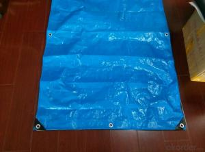 100% PE Sunproof UV-treatted Tarpaulin Cover