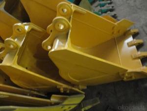 Komatsu 0.4 Bucket excavator parts Komatsu 120/200-6