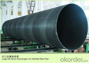 SPIRAL STEEL PIPE 56'' ASTM API LARGE DIAMETER PIPE