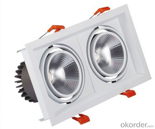 Lastest Products in Market 2700K-6000K COB LED Downlight Price/Popular 60W LED Down Light