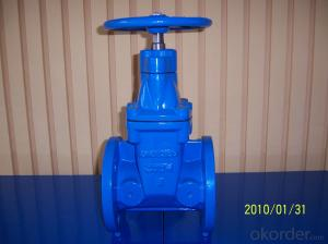 AWWA509  Soft Seal  Non-risings Gate Valve