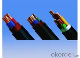 PVC / PE / XLPE  cable , electric  cable