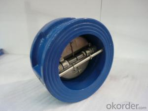 GB Ductile Iron Wafer Check Valve For Drinking Water