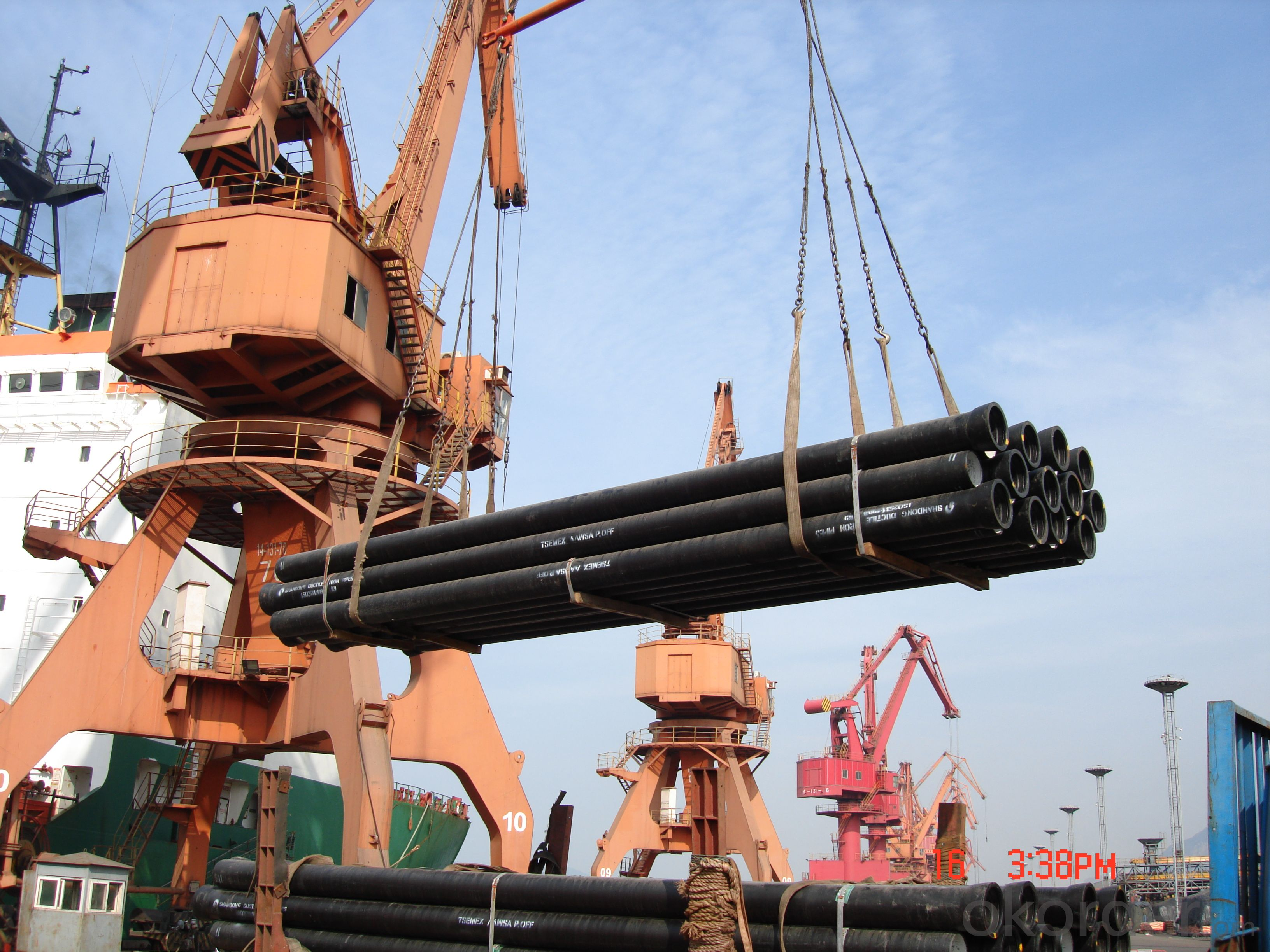 ISO2531:2009 Ductile Iron Pipe C Class DN500