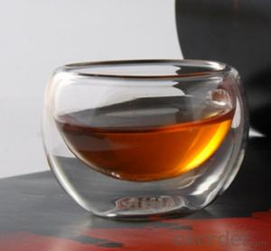 Double Wall Heat Resistant Borosilicate Glass Tea Cup