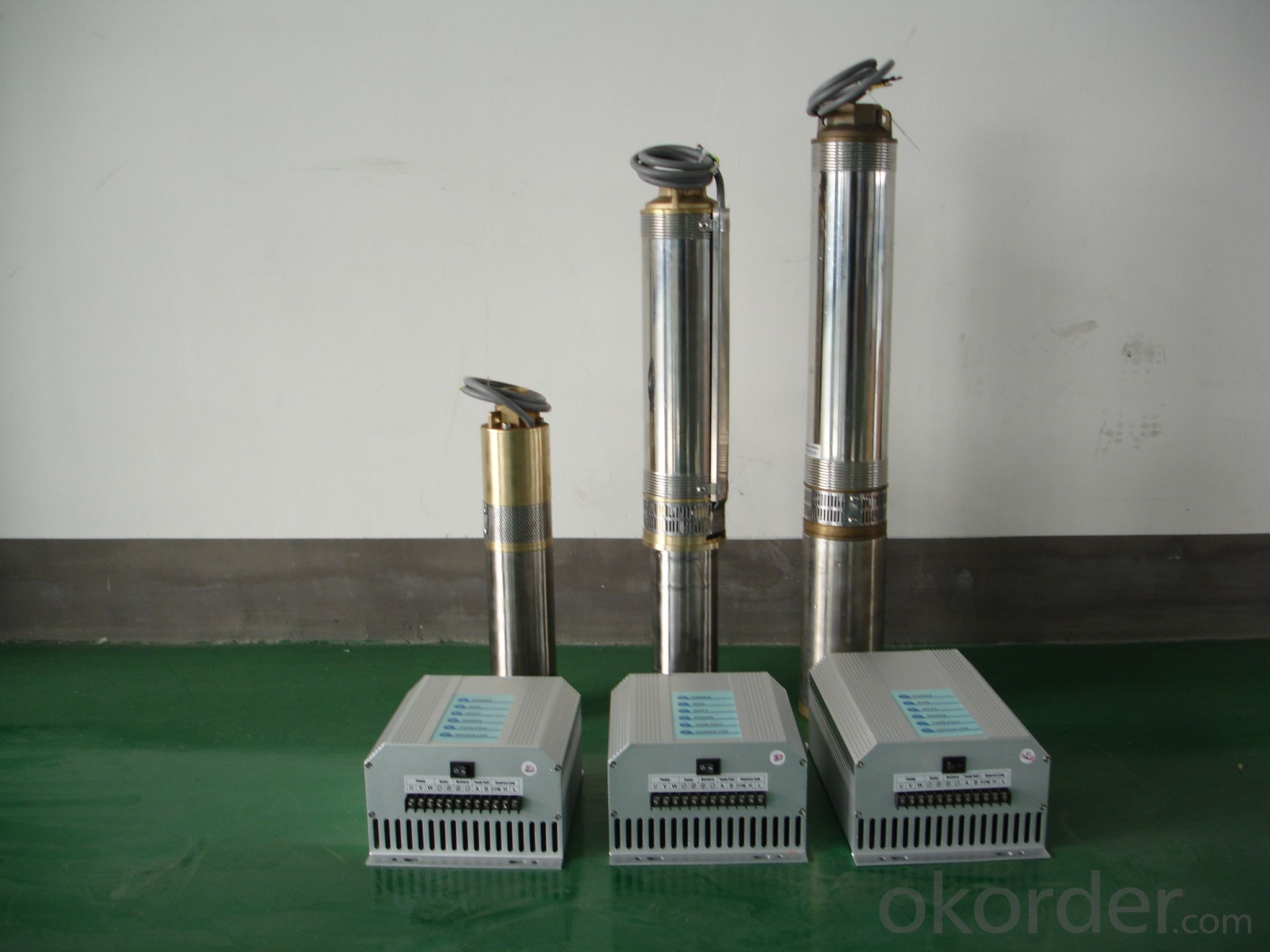 DC/AC SOLAR WATER SUBMERSIBLE Pump FOR IRRIGATION