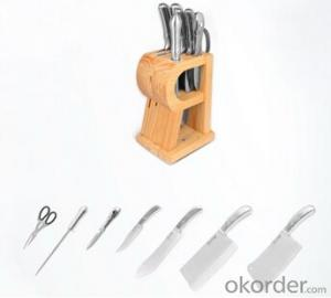 Art no. HT-KS1004  Stainless steel knife set