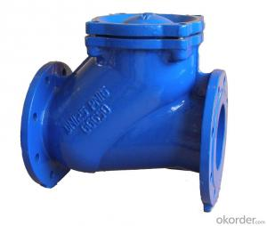 Ductile Iron Ball Check Valve For Drinking Water
