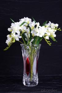Modern Clear Artificial Unique Decoration Mosaic Glass Vase