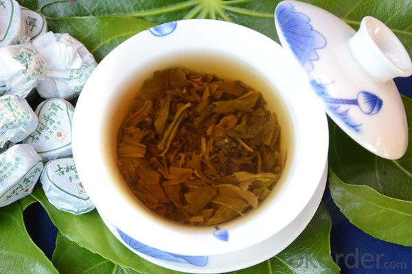 Yunnan compressed tea refine chinese tea puer tea