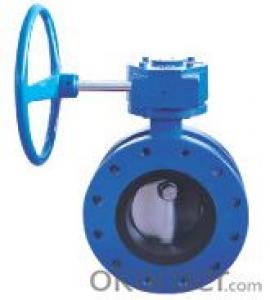 Ductile iron Double Flanged Concentirc Butterfly Valve