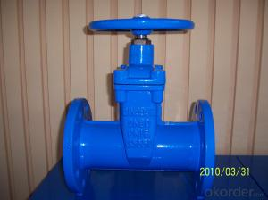 Gate Valve Ductile iron Double Flanged big size  DINF5