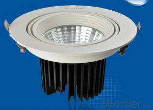 CE SAA cob 30w ceiling led light/led ceiling lighting cutout 150mm