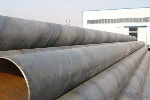 SPIRAL STEEL PIPE 52'' ASTM API LARGE DIAMETER PIPE