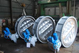 Ductile iron Double Flanged big size Gate Valve F5